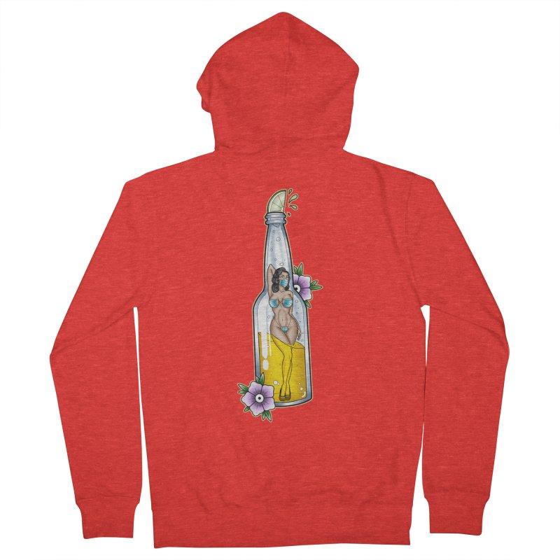 Coronita-Lite By Nirvana Men's Zip-Up Hoody by True Love Tattoo Studios Shop