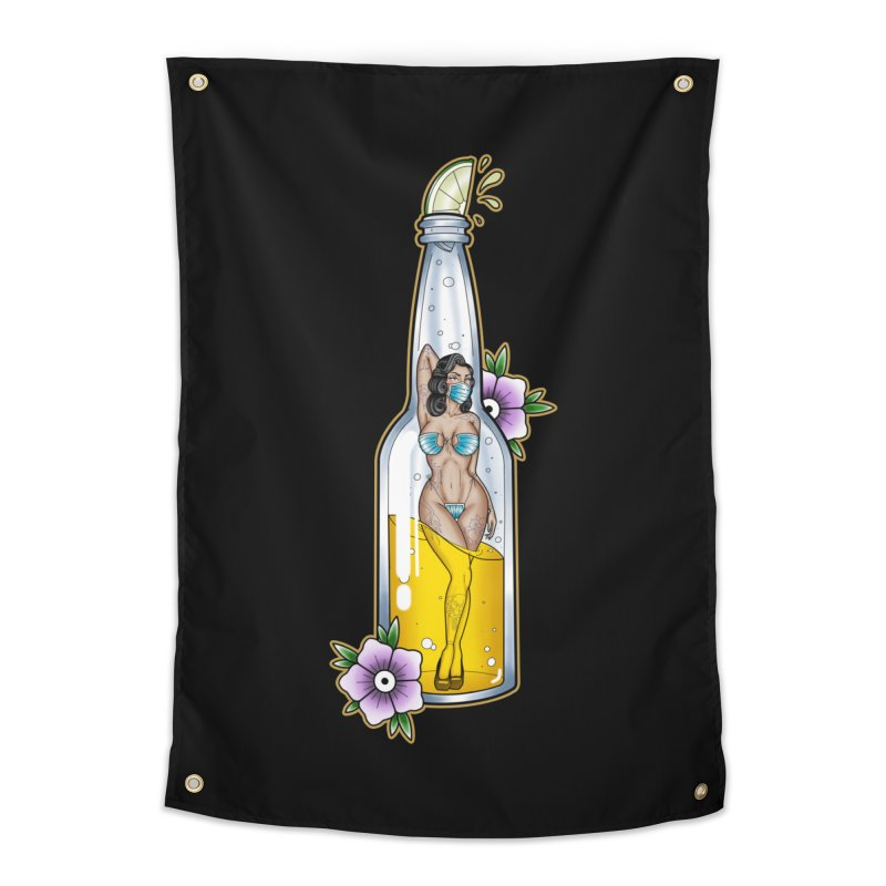 Coronita Full Body By Nirvana Home Tapestry by True Love Tattoo Studios Shop