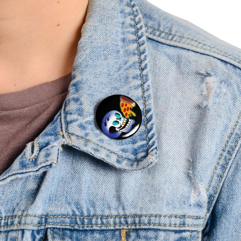I HEART PIZZA BY ADAM FACENDA Accessories Button by True Love Tattoo Studios Shop