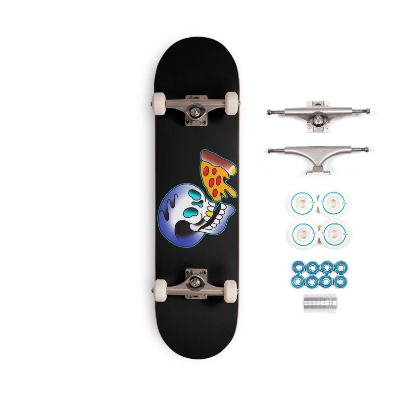 I HEART PIZZA BY ADAM FACENDA Accessories Skateboard by True Love Tattoo Studios Shop