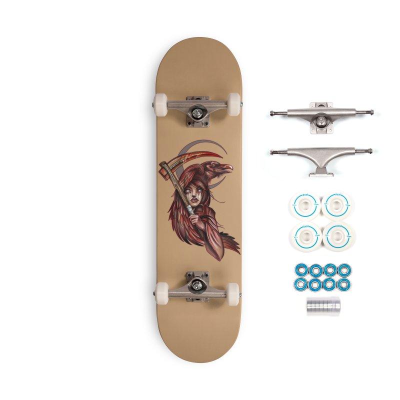 RED REAPER BY ERICK RIVERO Accessories Skateboard by True Love Tattoo Studios Shop