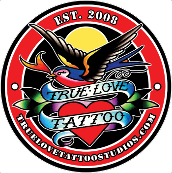 True Love Tattoo Studios Shop Logo
