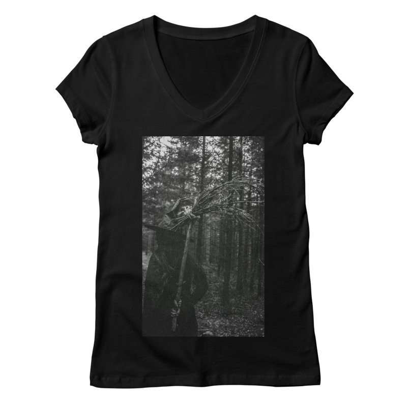 The Witch Part 3 Women's Regular V-Neck by True To My Wyrd's Artist Shop