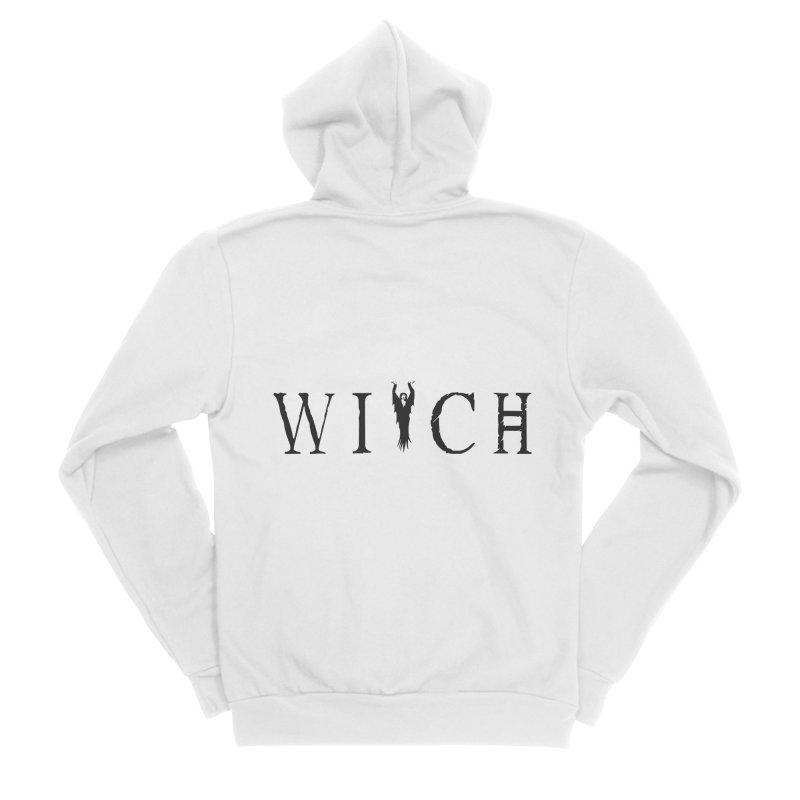 WITCH Women's Sponge Fleece Zip-Up Hoody by True To My Wyrd's Artist Shop