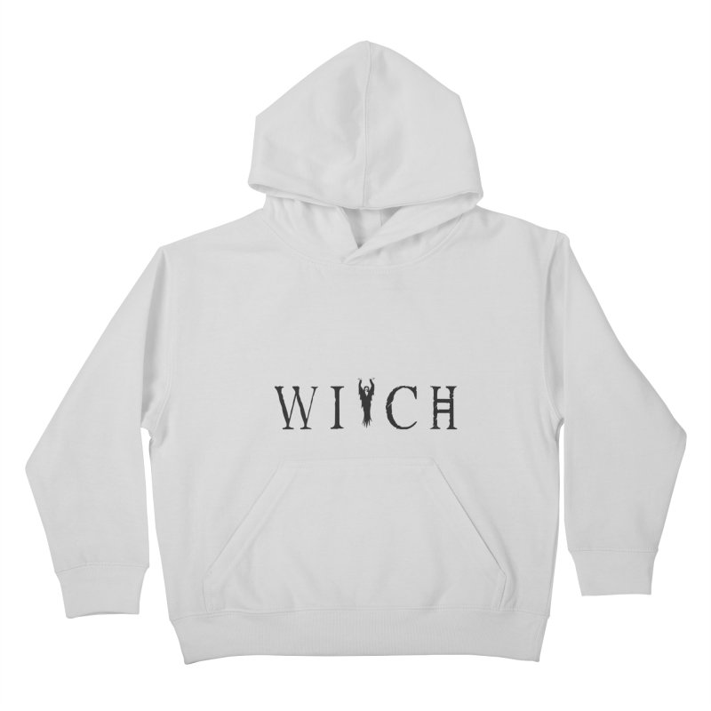 WITCH Kids Pullover Hoody by True To My Wyrd's Artist Shop