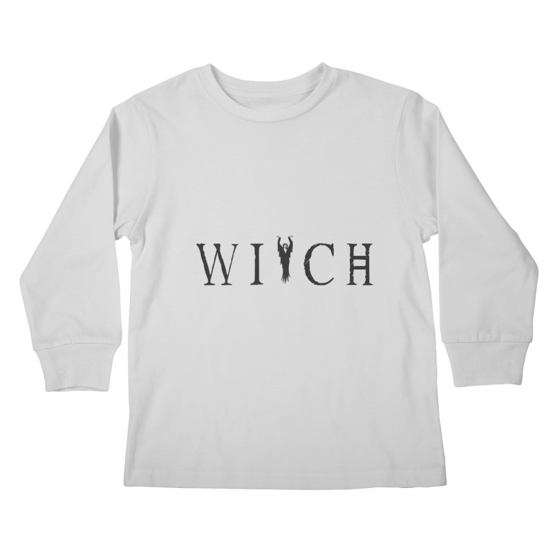 WITCH Kids Longsleeve T-Shirt by True To My Wyrd's Artist Shop