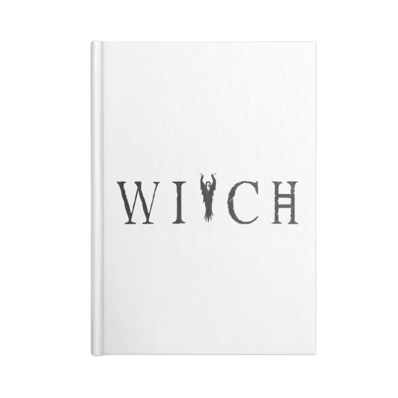WITCH Accessories Lined Journal Notebook by True To My Wyrd's Artist Shop