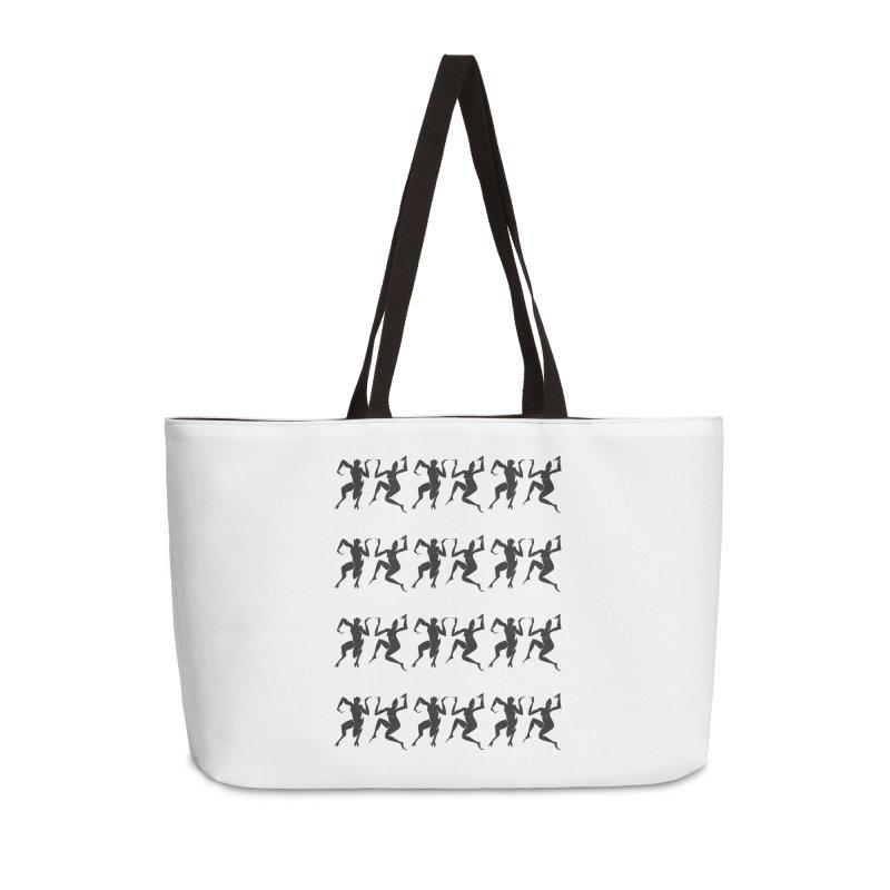 Devils Dancing Accessories Weekender Bag Bag by True To My Wyrd's Artist Shop
