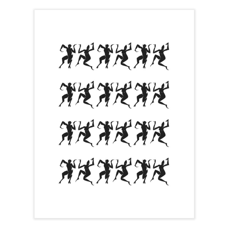 Devils Dancing Home Fine Art Print by True To My Wyrd's Artist Shop