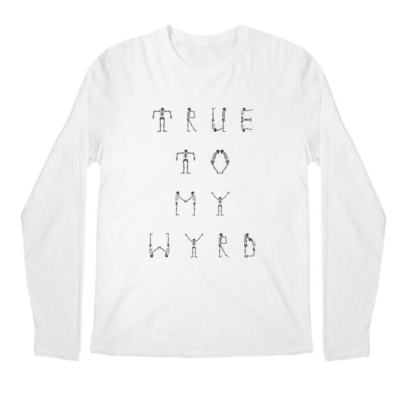 True To My Wyrd Men's Regular Longsleeve T-Shirt by True To My Wyrd's Artist Shop