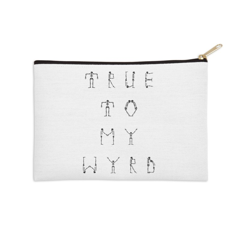 True To My Wyrd Accessories Zip Pouch by True To My Wyrd's Artist Shop