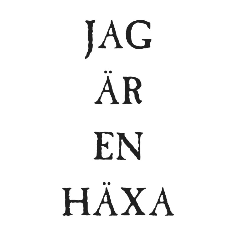 Jag är en häxa Home Tapestry by True To My Wyrd's Artist Shop
