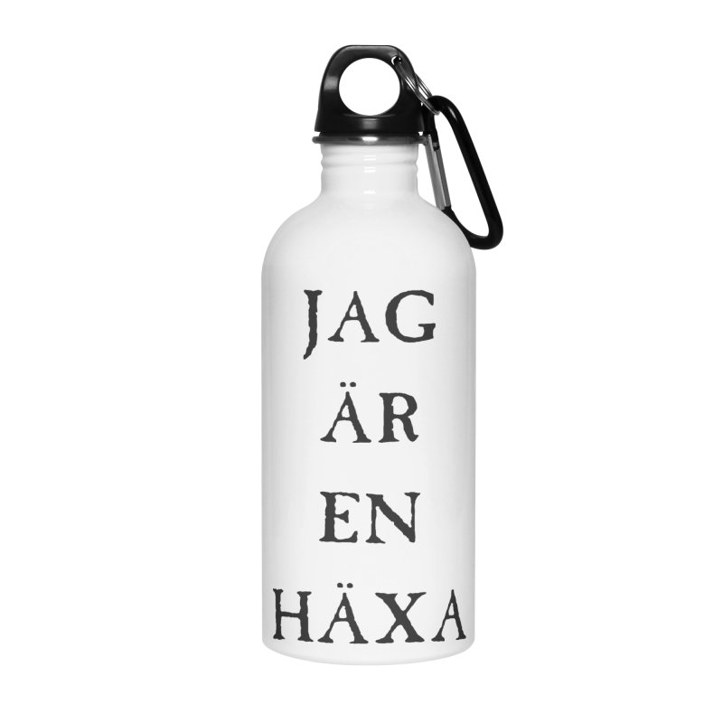 Jag är en häxa Accessories Water Bottle by True To My Wyrd's Artist Shop