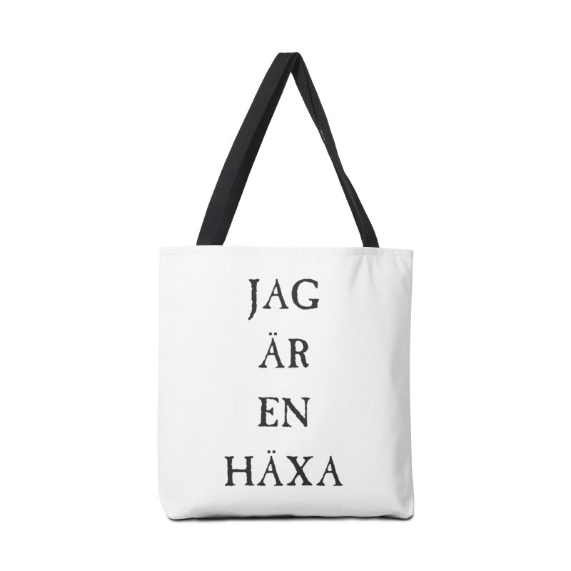 Jag är en häxa Accessories Tote Bag Bag by True To My Wyrd's Artist Shop
