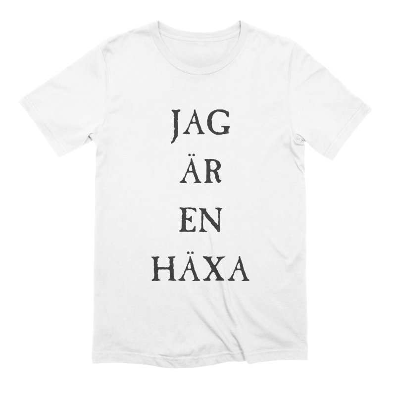 Jag är en häxa Men's Extra Soft T-Shirt by True To My Wyrd's Artist Shop