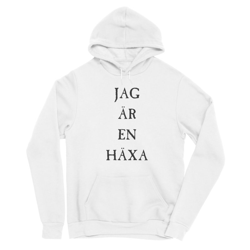 Jag är en häxa Men's Sponge Fleece Pullover Hoody by True To My Wyrd's Artist Shop