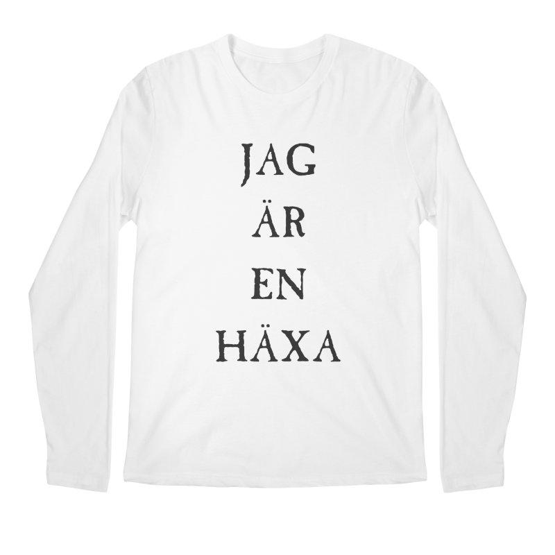 Jag är en häxa Men's Regular Longsleeve T-Shirt by True To My Wyrd's Artist Shop