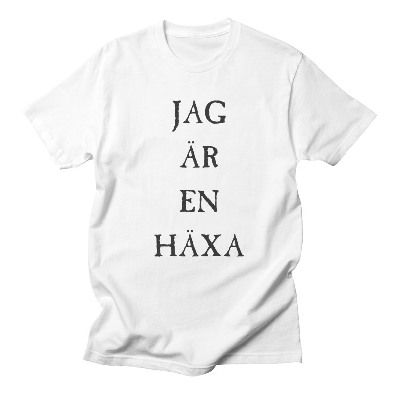 Jag är en häxa Men's Regular T-Shirt by True To My Wyrd's Artist Shop
