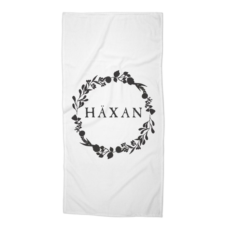 Häxan Accessories Beach Towel by True To My Wyrd's Artist Shop