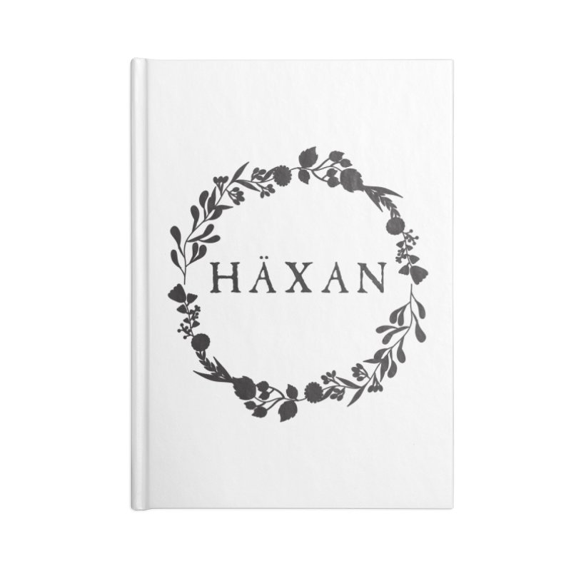 Häxan Accessories Blank Journal Notebook by True To My Wyrd's Artist Shop