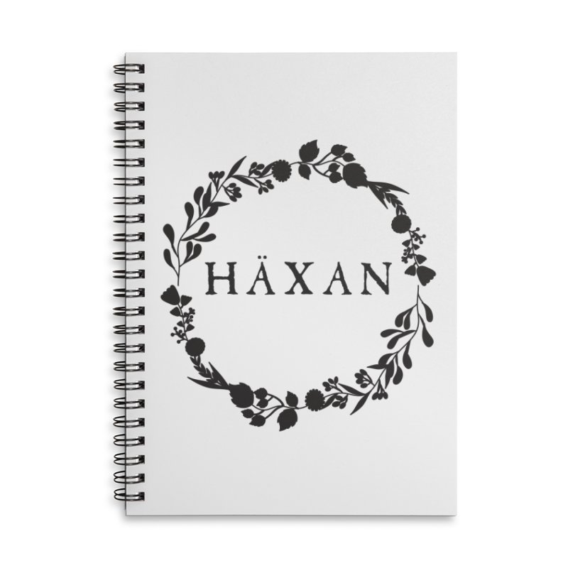 Häxan Accessories Lined Spiral Notebook by True To My Wyrd's Artist Shop