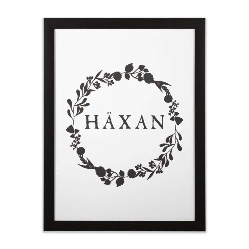 Häxan Home Framed Fine Art Print by True To My Wyrd's Artist Shop