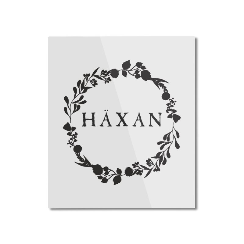 Häxan Home Mounted Aluminum Print by True To My Wyrd's Artist Shop