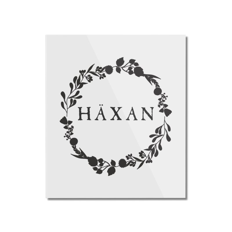 Häxan Home Mounted Acrylic Print by True To My Wyrd's Artist Shop
