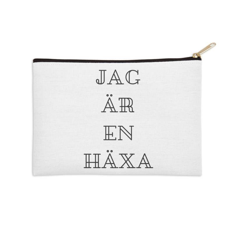 Jag är en häxa Accessories Zip Pouch by True To My Wyrd's Artist Shop