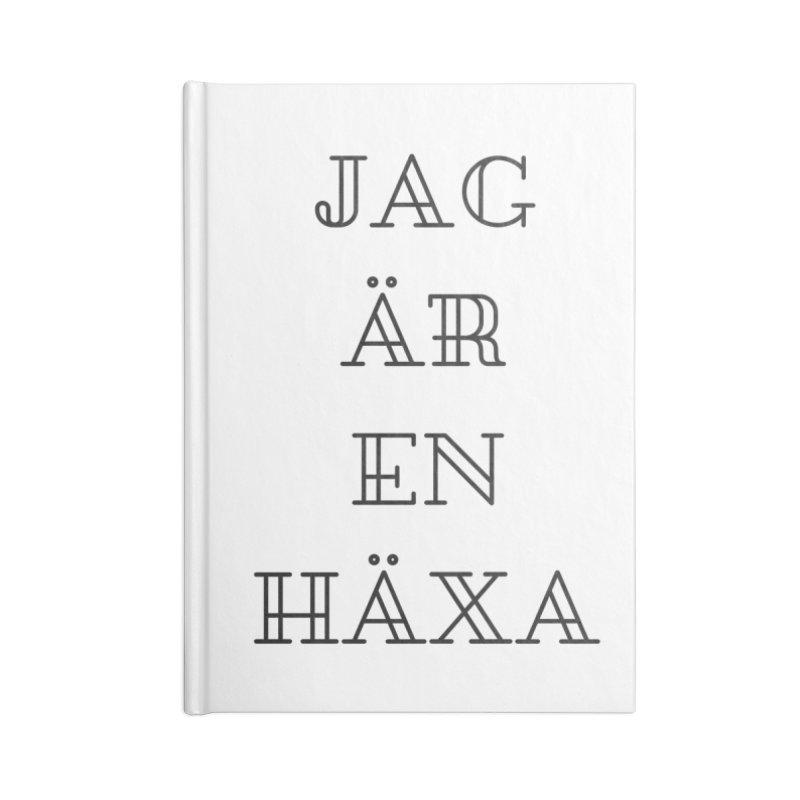 Jag är en häxa Accessories Lined Journal Notebook by True To My Wyrd's Artist Shop