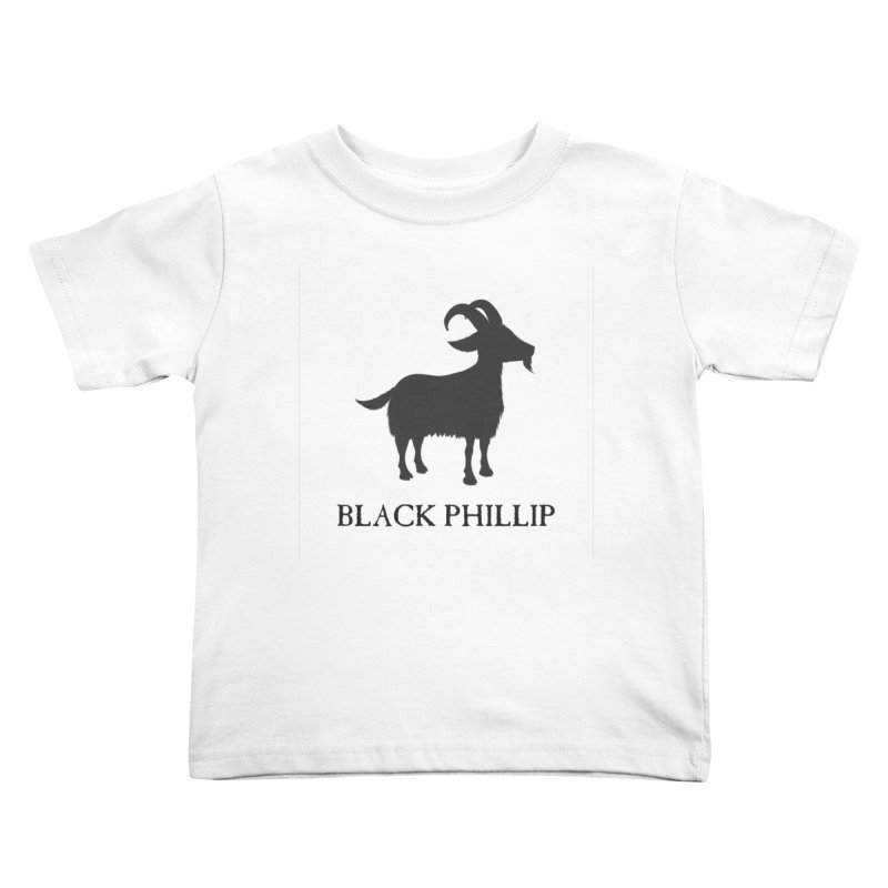 Black Phillip II Kids Toddler T-Shirt by True To My Wyrd's Artist Shop