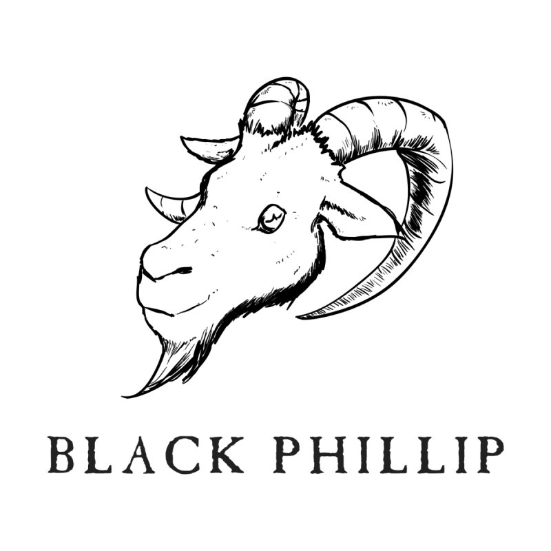 Black Phillip III Men's Longsleeve T-Shirt by True To My Wyrd's Artist Shop