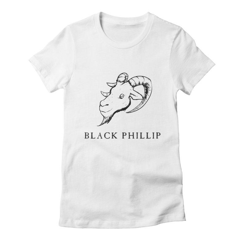 Black Phillip III Women's T-Shirt by True To My Wyrd's Artist Shop