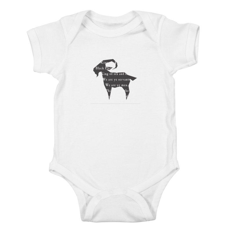 Black Phillip IV Kids Baby Bodysuit by True To My Wyrd's Artist Shop