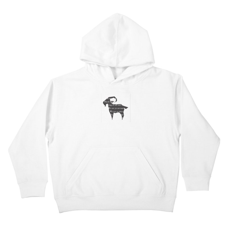 Black Phillip IV Kids Pullover Hoody by True To My Wyrd's Artist Shop
