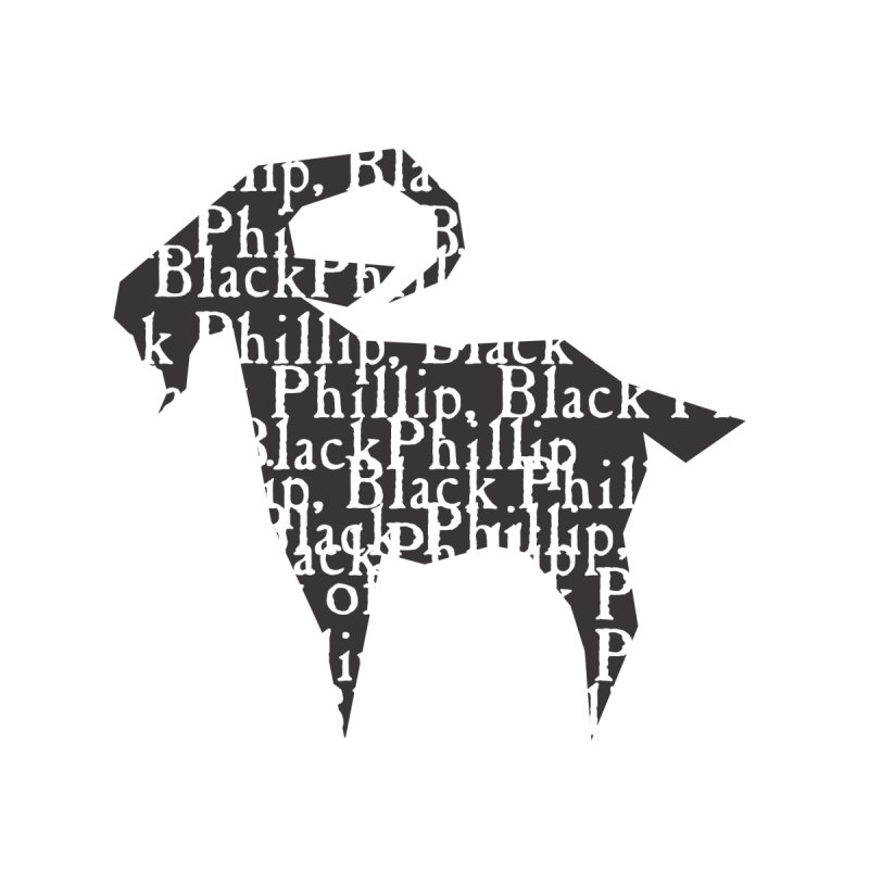 Black Phillip V Men's T-Shirt by True To My Wyrd's Artist Shop