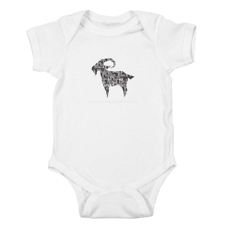 Black Phillip V Kids Baby Bodysuit by True To My Wyrd's Artist Shop