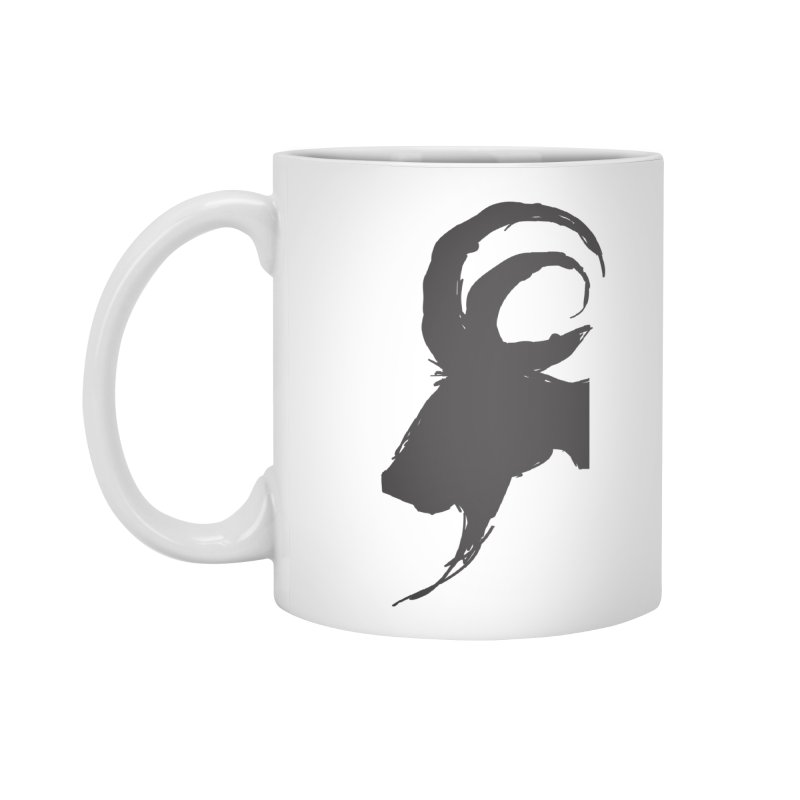 Black Phillip VI Accessories Standard Mug by True To My Wyrd's Artist Shop
