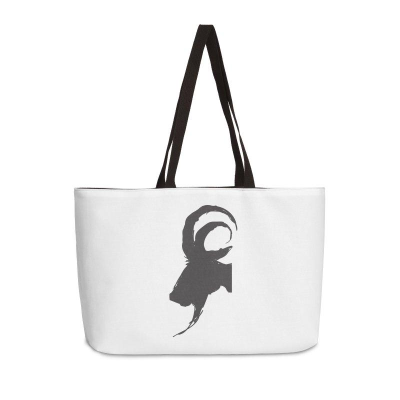 Black Phillip VI Accessories Weekender Bag Bag by True To My Wyrd's Artist Shop