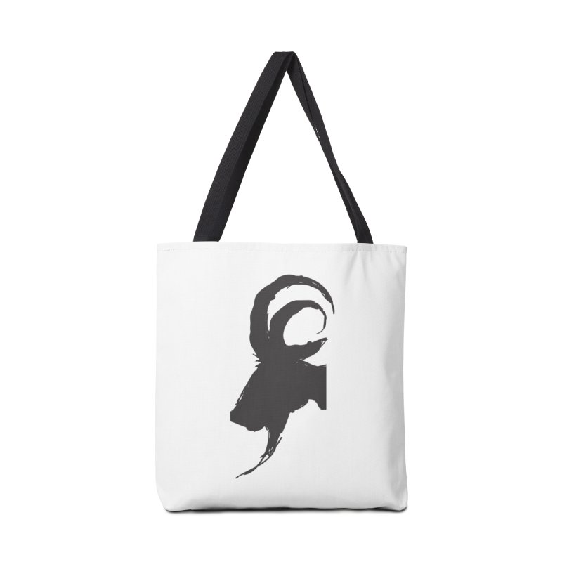 Black Phillip VI Accessories Tote Bag Bag by True To My Wyrd's Artist Shop