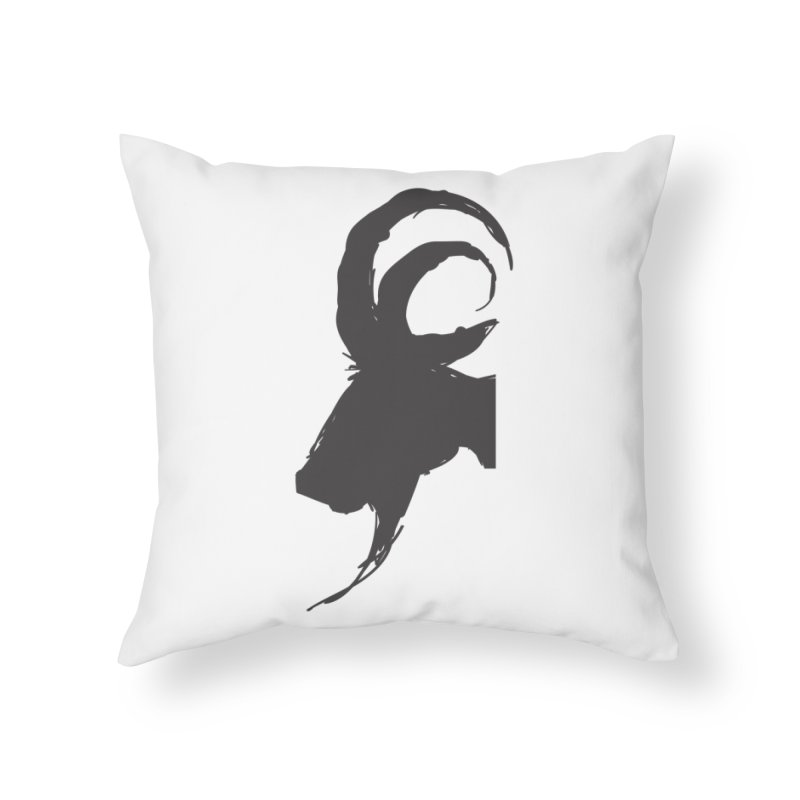 Black Phillip VI Home Throw Pillow by True To My Wyrd's Artist Shop