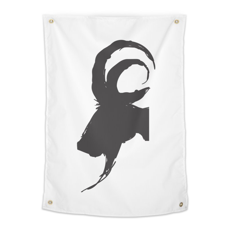 Black Phillip VI Home Tapestry by True To My Wyrd's Artist Shop