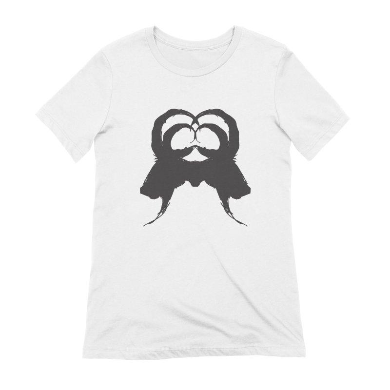 Black Phillip VII Women's T-Shirt by True To My Wyrd's Artist Shop