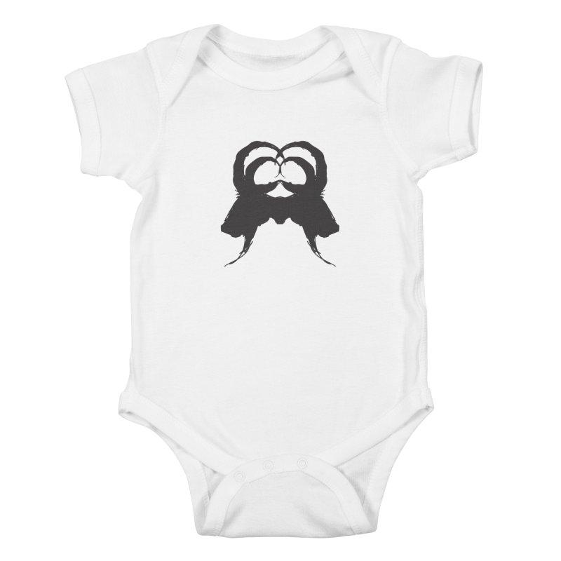 Black Phillip VII Kids Baby Bodysuit by True To My Wyrd's Artist Shop