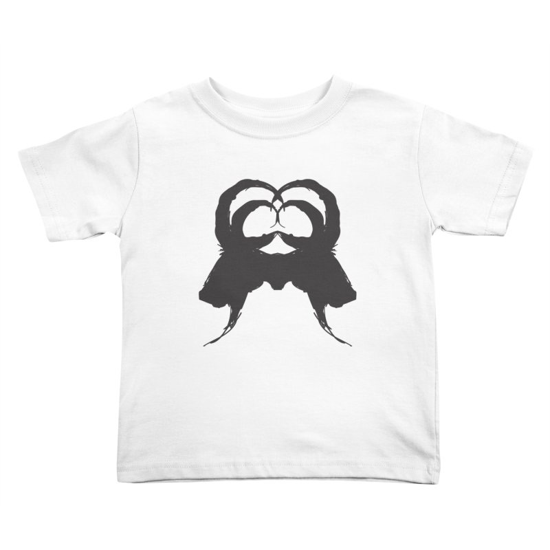 Black Phillip VII Kids Toddler T-Shirt by True To My Wyrd's Artist Shop