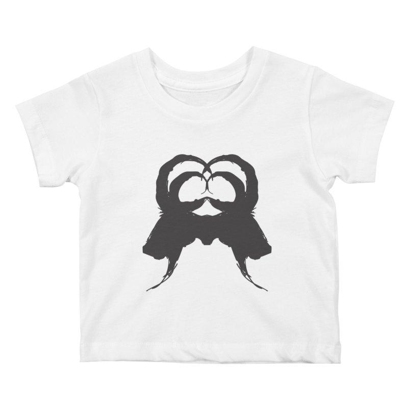 Black Phillip VII Kids Baby T-Shirt by True To My Wyrd's Artist Shop