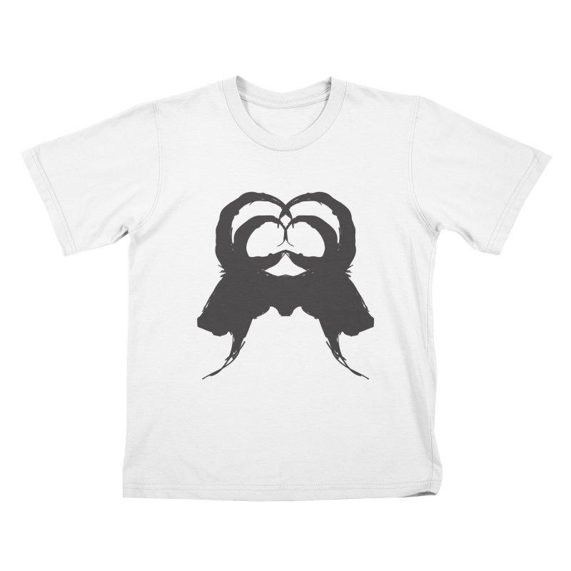 Black Phillip VII Kids T-Shirt by True To My Wyrd's Artist Shop