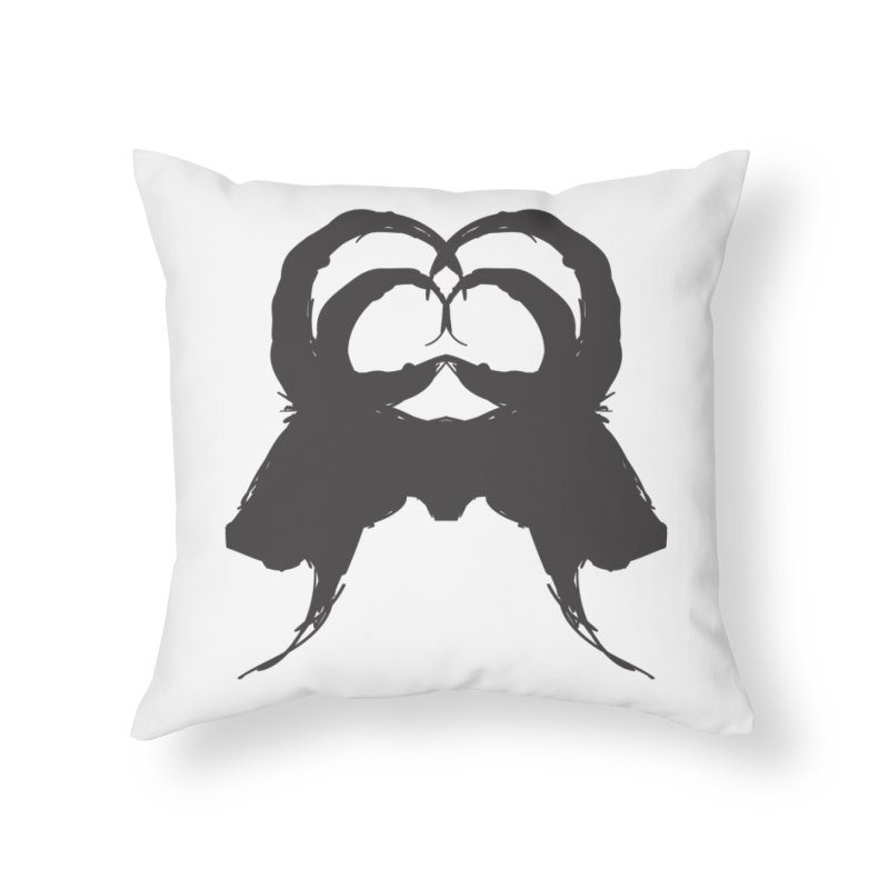 Black Phillip VII Home Throw Pillow by True To My Wyrd's Artist Shop
