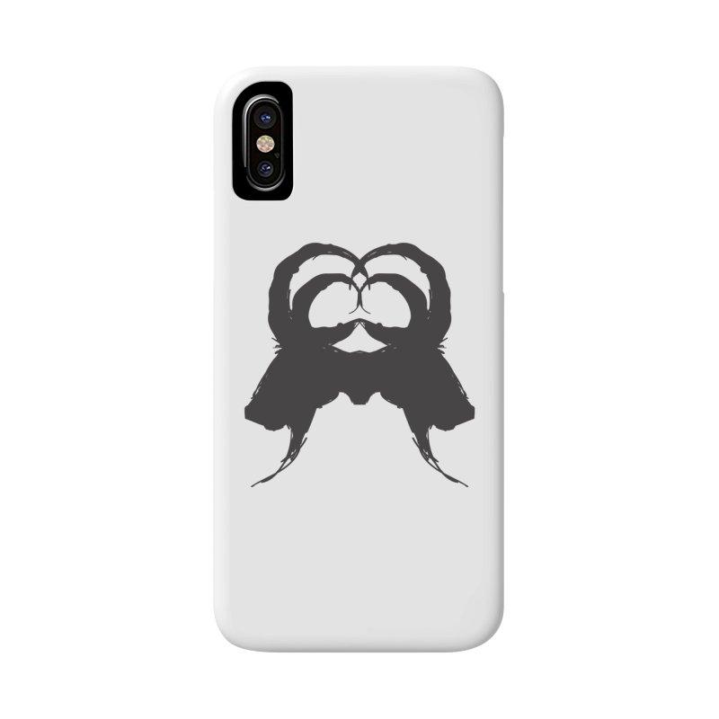 Black Phillip VII Accessories Phone Case by True To My Wyrd's Artist Shop