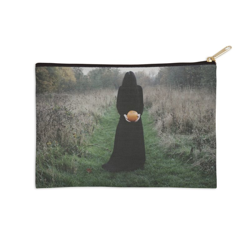 Queen Of Halloween Accessories Zip Pouch by True To My Wyrd's Artist Shop